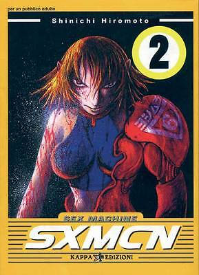 Ronin Manga N.2 - SEX MACHINE N.2 - SXMCN