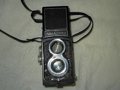 Rolleicord II Phillips model w/ Zeiss Triotar 3,5/75mm S/N 923111