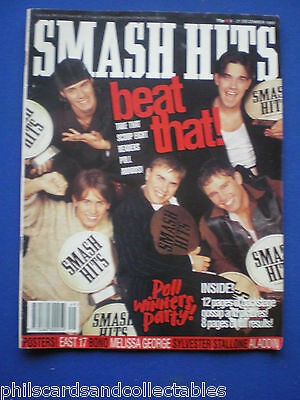 Smash Hits - 8th Dec 1993 - Take That, PJ and Duncan, Poll Winners Party