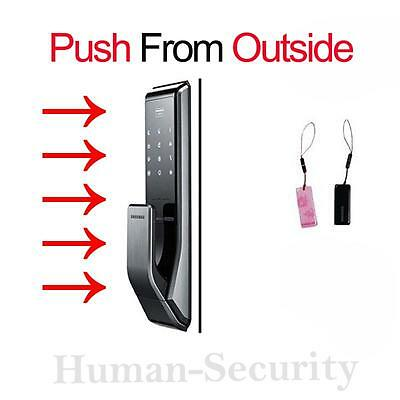 NEW SAMSUNG DIGITAL DOORLOCK PUSH PULL SHP-DP710 [Push from Outside]