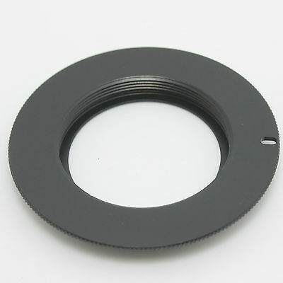 M42 Lens to Canon EOS Adapter Ring 4 Rebel XSi T1i T2i with plate 5D II III 6D