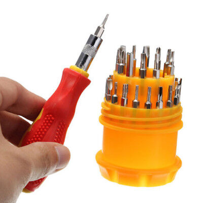 Precision 31 in 1 Screw Driver Set Small Pocket Screwdriver Set Bits Tool Kits
