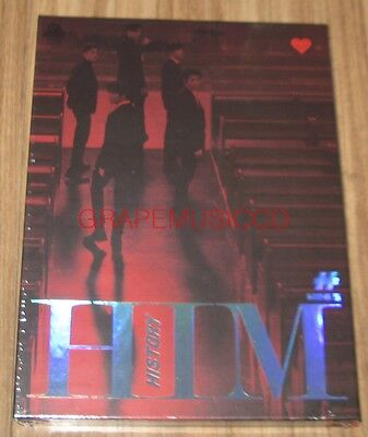 HISTORY HIM 5th Mini Album HEART VER. K-POP CD + FOLDED POSTER SEALED
