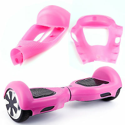 """Rose Etui silicone housse de protection pr 6.5"""" self balance scooter hoverboard"""