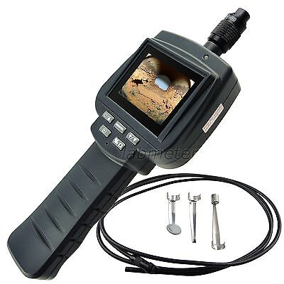 """2.4"""" LCD Recordable Video Inspection IP67 Camera Endoscope Borescope 3M Cable"""