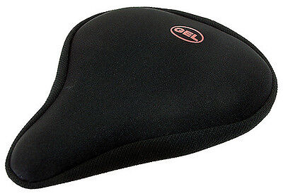 VELO BLACK GEL SADDLECOVER SLIM TYPE 275MM x 170.MM