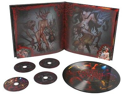 Cannibal Corpse 'Dead Human Collection' 4 CD / Picture Disk Vinyl Box Set