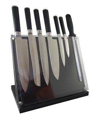 NEW Laguiole by Louis Thiers 8-piece knife block set by Laguiole Australia