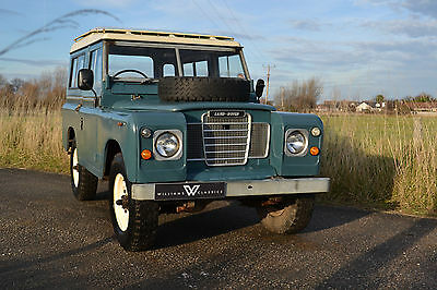 "Land Rover Series 3 88"" 1983 Hardtop Ex Factory Petrol 83,000 Miles"