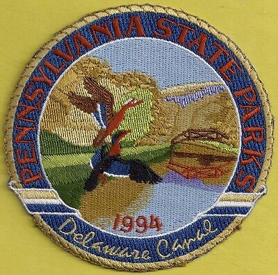 Pa Pennsylvania Fish Game Commission 1994 Delaware Canal Pa State Park Patch