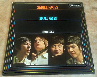 SMALL FACES self titled 1967 ORIG UK IMMEDIATE MONO VINYL LP