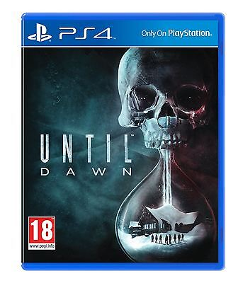 Until Dawn  Sony PS4 Game New and Sealed