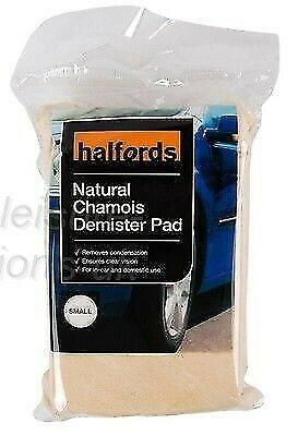 Natural Chamois Demister Pad Small Car Vehicle Cleaning Sponge Wiper