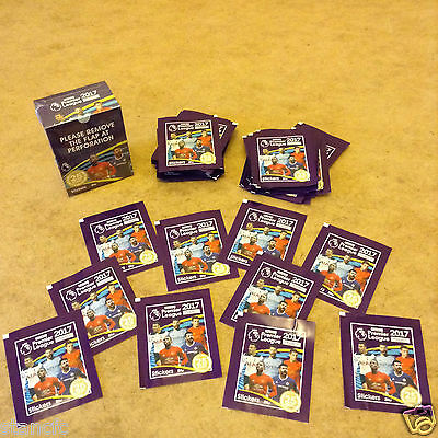Topps Merlin's Premier League 2017 Official Stickers Brand New Sealed Packets