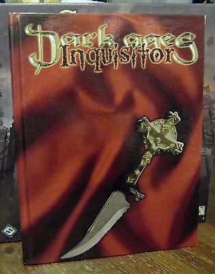 Dark Ages Inquisitor Core Rulebook White Wolf RPG