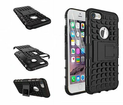 Shock Proof Armour Defender Rugged Hybrid Stand Case for iPhone Models