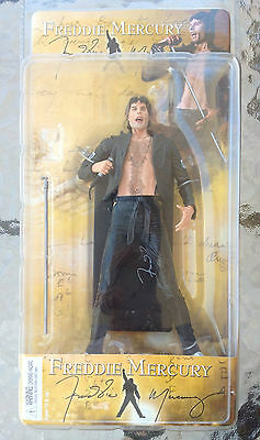 Queens Freddie Mercury In Leather Action Figure NECA 2006