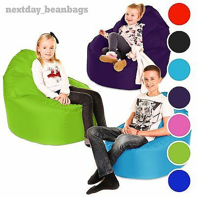 Large Childrens Beanbag Cup Chair Kids Teen Indoor Outdoor Bean Bag Waterproof