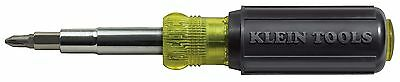 Klein Tools 32505 11-in-1 Screwdriver / Nut Driver with Combo Screw Tips