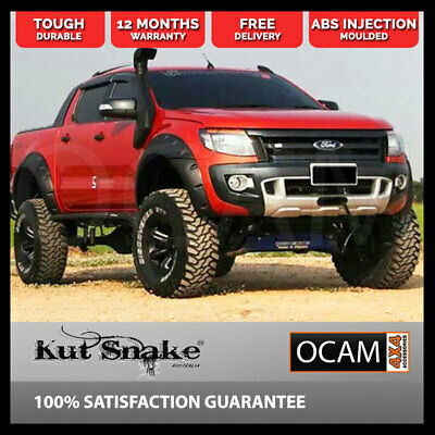 Kut Snake ABS Flares for Ford Ranger PX 2012-2017