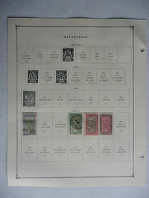 Madagascar • International Album pgs (Scott 1896-1971) 21 sheets with 36 stamps