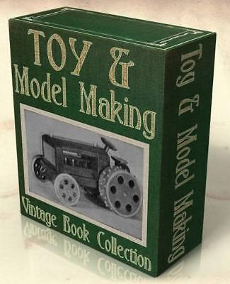 HOW TO MAKE VINTAGE TOYS 46 antique guide books on CD Vintage Toys