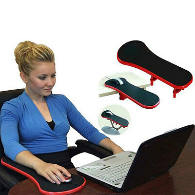 Ergonomic Computer Arm Rest Support Rest Play Rests Mouse Pad For Chair/Desk