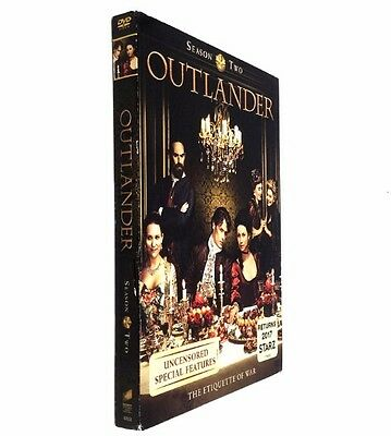 Outlander Season Two 2 (DVD, 2016, 5-Disc Set)