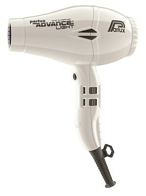 NEW Parlux Advance Light Ionic and Ceramic Dryer - White