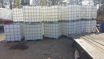 IBC food grade storage tote Container 264 gallon 1000 Litters LOCAL PICKUP