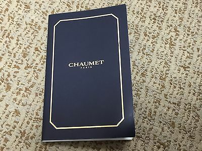 Vintage Chaumet Watch warranty booklet with stamp