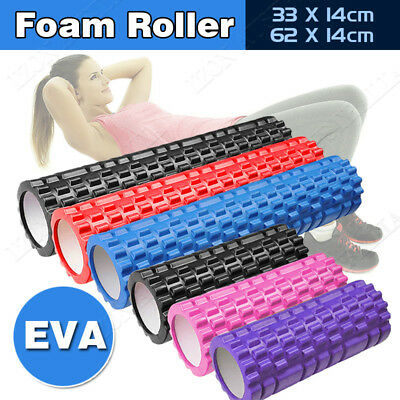 33X14/62X14cm Foam Roller Grid Massage Muscle Relax Yoga Fitness OZ