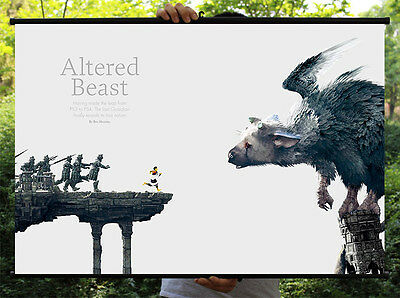 The Last Guardian Trico Poster Wall Mural Scroll Painting 90*60cm #02