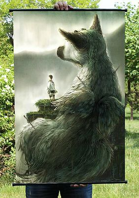 The Last Guardian Trico Poster Wall Murals Scroll Painting 60*90cm #04