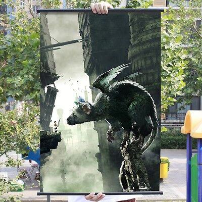 The Last Guardian Trico Poster Wall Murals Scroll Painting 60*90cm #05