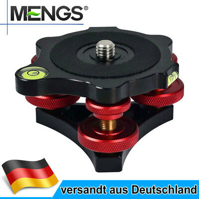 MENGS LP-64 EZ Leveler Aluminium Legierung Für Tripod Head and Tripod