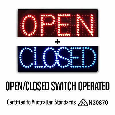 Incredible Epoxy LED OPEN CLOSED Switching Neon Sign for Shop Business Quality