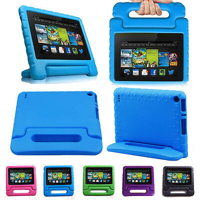 Children kids Safe Case EVA Cover Stand For Amazon Kindle Fire 7 inch 2015 2017