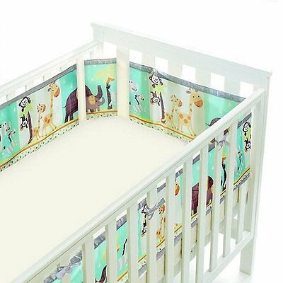 BreathableBaby 4 Sided Cot Wrap Fashion Collection - Animal