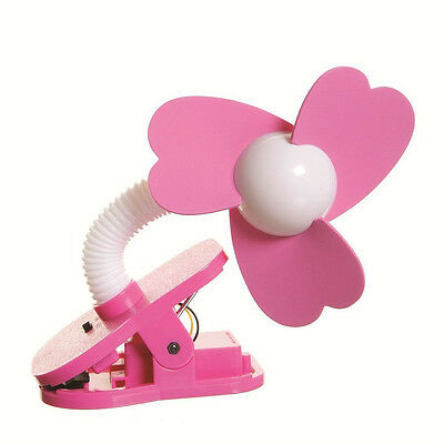 Dreambaby Portable Stroller Fan - Pink - NEW