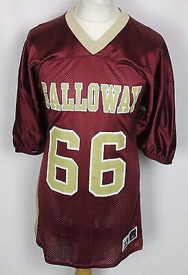 #66 Vintage Galloway American Football Jersey Mens Xl Alleson Athletic