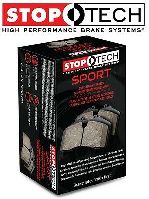 High Friction 309.02420 FRONT SET Stoptech Street Performance Disc Brake Pads