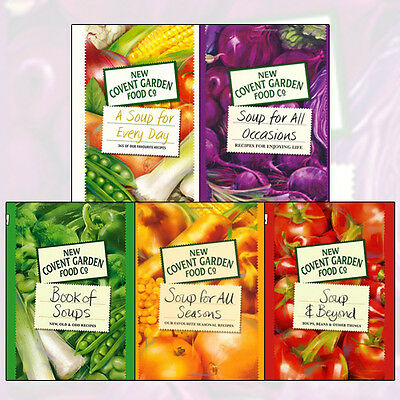 Soup for Every Day 5 Books Collection Set (Soup for All Occasions) BrandNew Pack