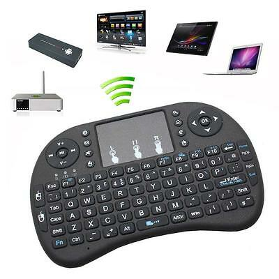 Wireless Air Mouse Qwerty Keyboard Remote Control for Box Android TV,laptop, PC