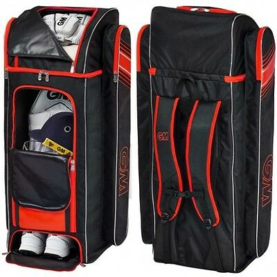 2017 Gunn and Moore Original Black Red Duffle Cricket Bag