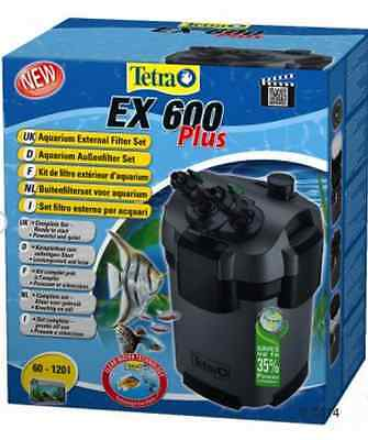Tetra EX Plus External Filter Media Aquariums Fish Tank 35% Less Electricity New