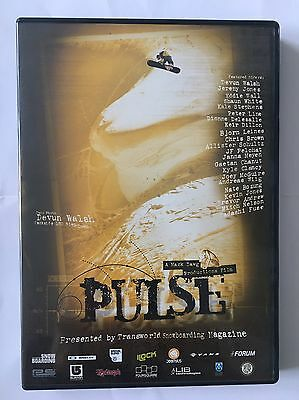 Mack Dawg Productions Pulse Snowboarding DVD Mint Condition MDP