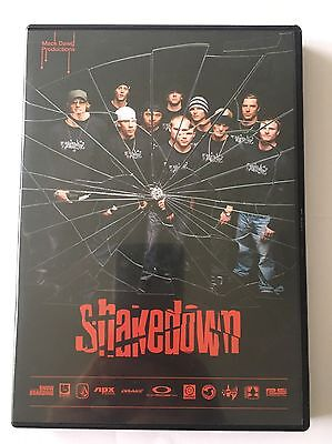 Mack Dawg Productions Shakedown Snowboarding DVD Mint Condition MDP