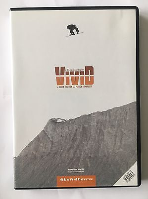 Vivid Absinthe Films Snowboarding DVD Mint Condition