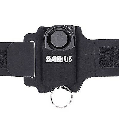 SABRE Runner Personal Alarm - 130 dB 1000 Foot Range - with Adjustable/Reflec...